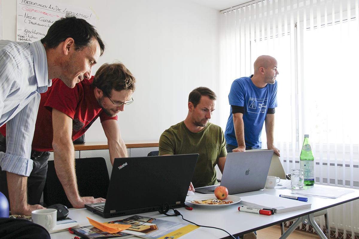 Climathon Wolkersdorf Energie Team 2019
