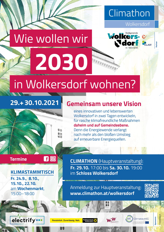 Plakat Climathon Wolkersdorf